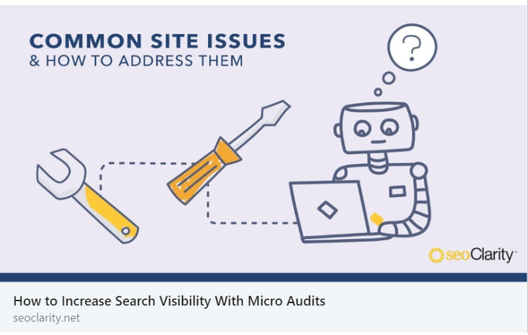 SEO - COMMON SITE ISSUES